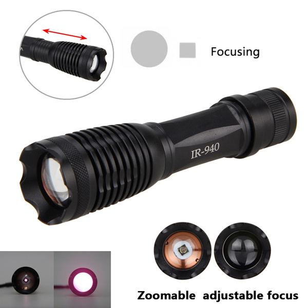 Flashlight, osram, led, zoomablefocusflashlighttorch