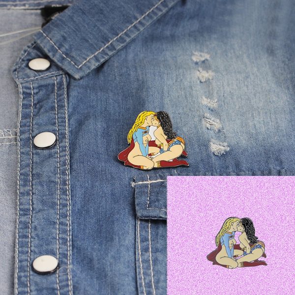 magicalwomanbrooch, gayjewelry, Love, Jewelry