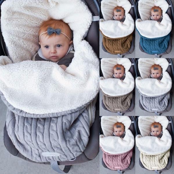 cute, Winter, newbornblanket, hoodedsleepingbag