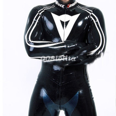 latex, Black And White, Heren, Body Suit
