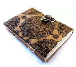 leatherdairy, fairtradehandmademiniplainleatherjournaldiary, leathernotebook, leather