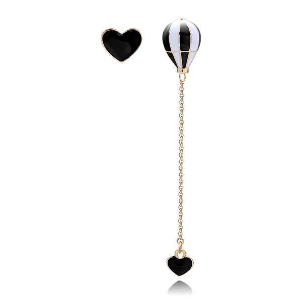 Black Earrings, Fashion, Dangle Earring, Jewelry