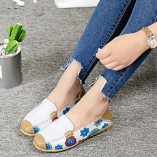 Flats, Ballet, foral, on