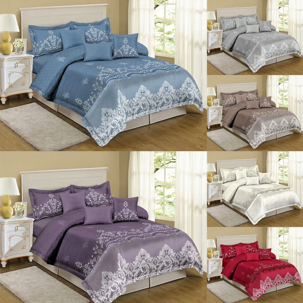 King, Lace, quiltcover, duvetcoversset