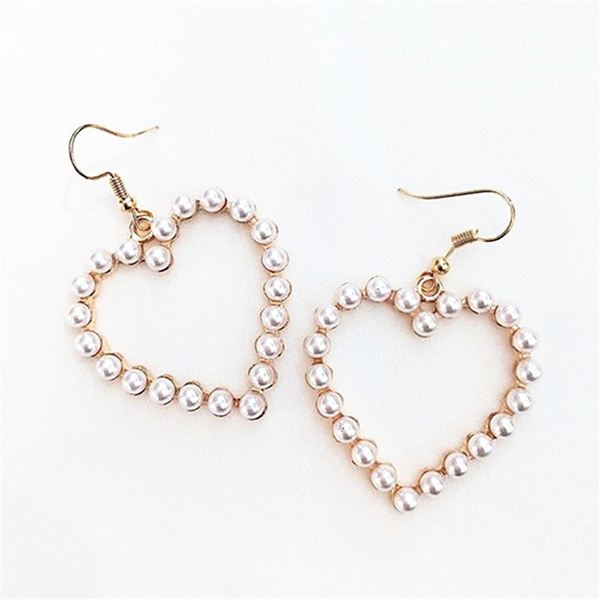 Heart, Fashion, goldearringhoop, Gifts