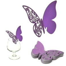 butterfly, papillon, tablenameplacecard, invitation