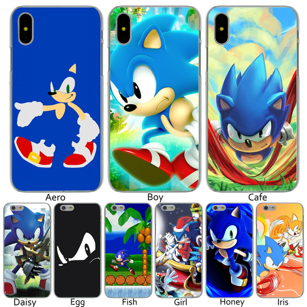 P83 Sonic the Hedgehog Hard Transparent Phone Shell Case for iPhone 8 7 6 6s Plus 5 5S SE 5C 4 4S 10 Cover for Apple iPhone X XR XS Max Cases   Wish