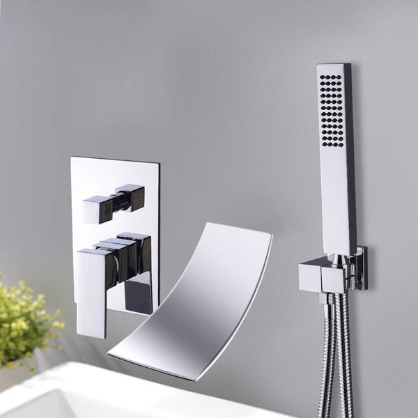 coldandhotwater, Wall Mount, showersinkfaucet, Bathroom