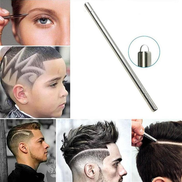 Steel, hairstyle, Magic, hairengraving