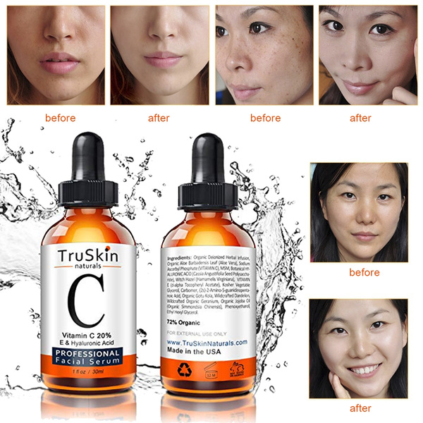 2018 Pure Vitamin C Hyaluronic Acid Serum 20 For Face Best Anti Aging 5 10 Ml Wish