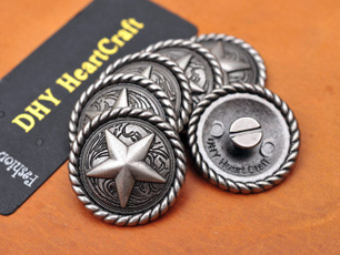 leathercraftconcho, starconcho, Star, ropeedgeconcho