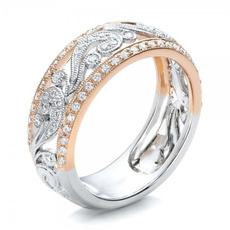 golden, Fashion, wedding ring, 18k gold ring