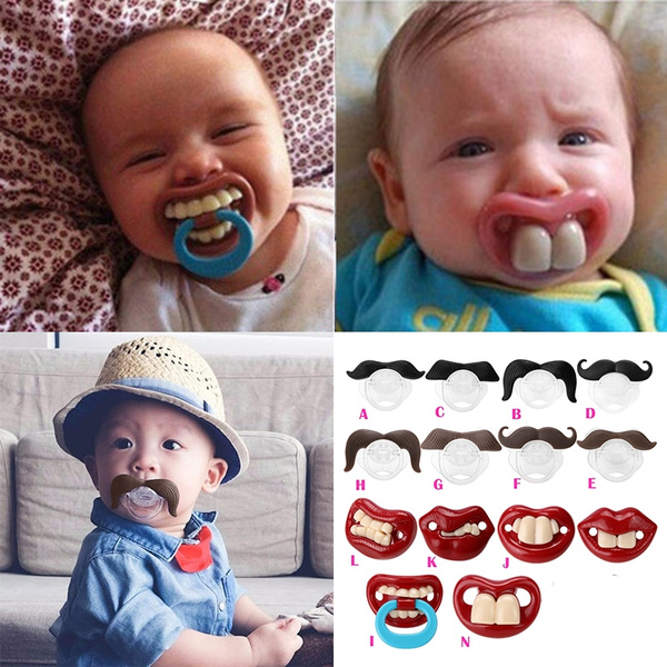 Funny and Cute Baby pacifier