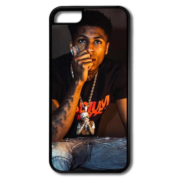 NBA YoungBoy Never Broke Again Portrait Cell Phone Case Cover for Iphone5 5s,iphone 6,Iphone 7 Plus,Iphone 8,phone X,Samsung Galaxy S Series/S6 ...