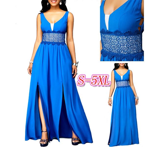 Blues, tiebackdres, plus size dress, Dress