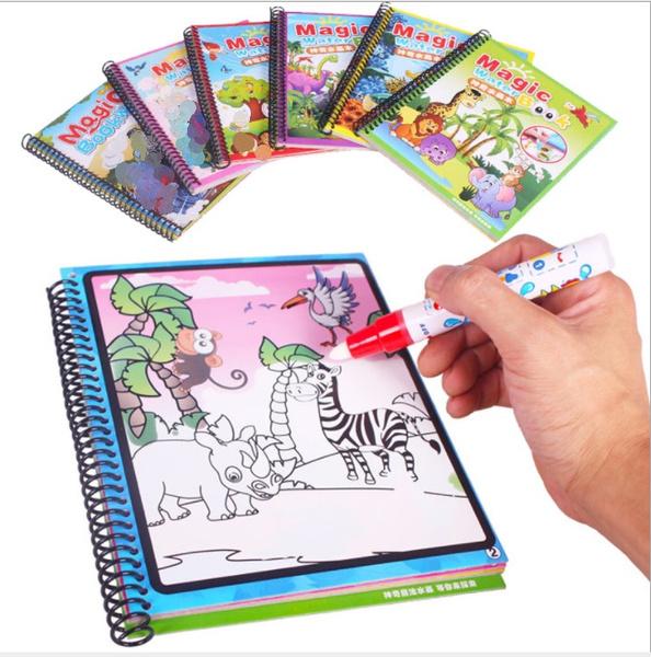 coloring, Magic, albumbook, childrenampyoungadult
