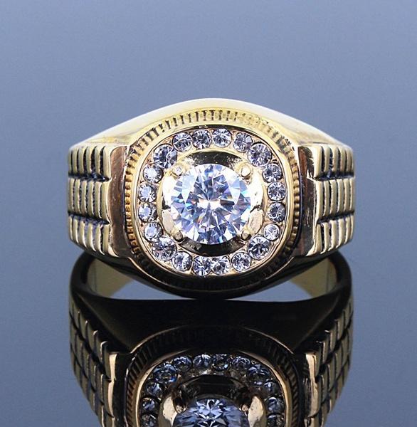 ringsformen, 18k gold, party, wedding ring