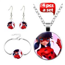 ladybug, Jewelry, Stud Earring, Glass