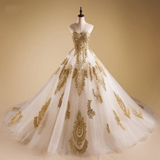 gowns, Jewelry, gold, Bridal wedding
