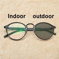 Outdoor, photochromicfashionglasse, photochromicprogressivereadingglasse, changingcolorglasse