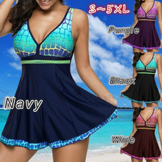 Deep V-Neck, bathing suit, Shorts, women beachwear