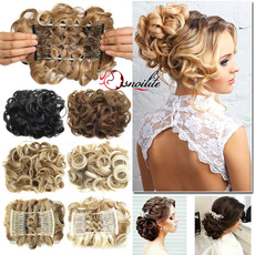 chignoncheveux, Hairpieces, hairbun, clip in hair extensions