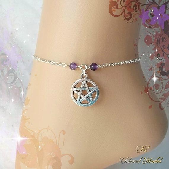 wiccan, Jewelry, wicca, Bracelet