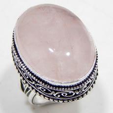 Sterling, quartz, 925 sterling silver, wedding ring