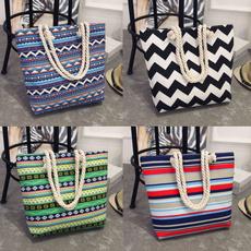 beachbag, Floral, totecanva, Totes