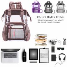 School, Backpacks, transparent backpack, School Backpack