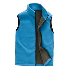 Vest, Waist Coat, Zip, Thermal