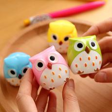 Kawaii, Owl, School, Plastic