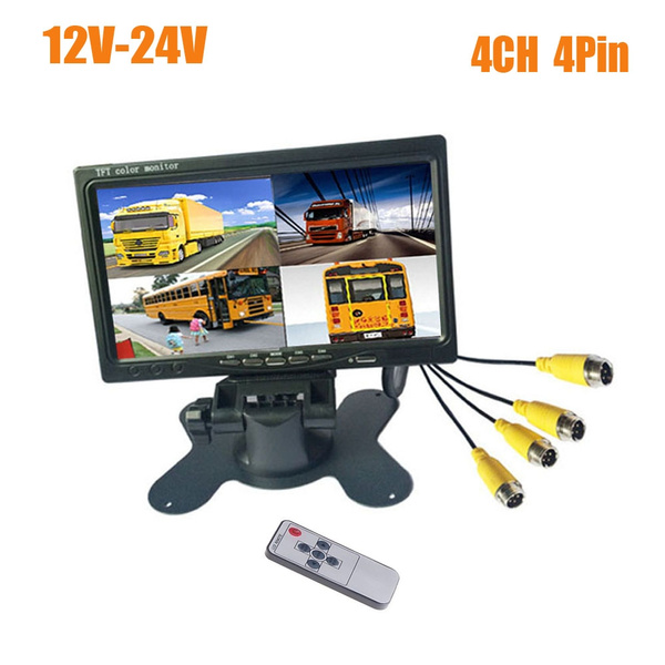 4channelvideoinput, parkingassistance, 7tftlcdmonitor, Monitors