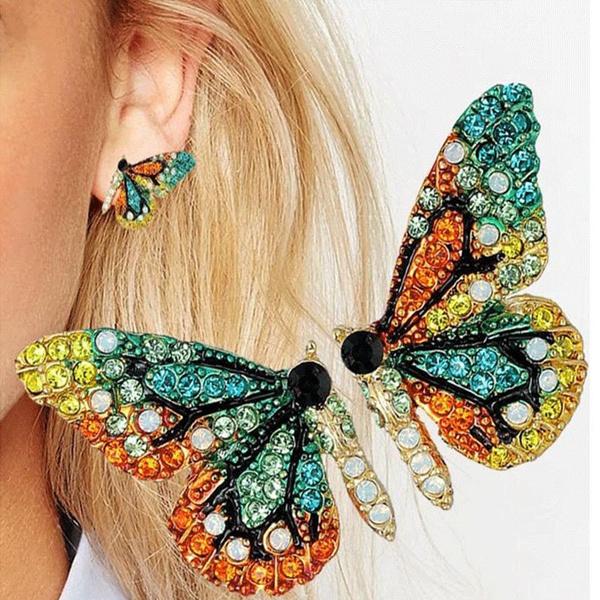 butterfly, fashion women, DIAMOND, Jewelry