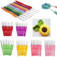 aluminiumcrochet, knittingcrochet, Knitting, Colorful