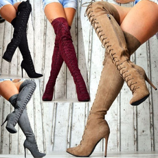 winterbootie, Womens Shoes, Leather Boots, Winter