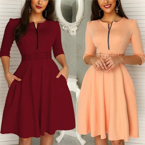 Club Dress, Fashion, pleated dress, Sleeve