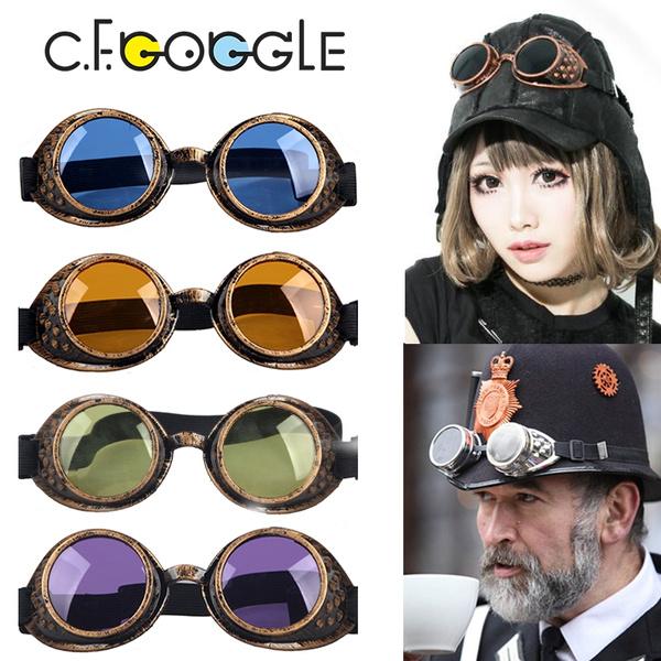 Cyber, Goth, Cosplay, Sunglasses