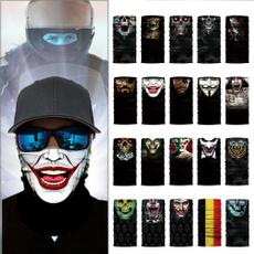 Outdoor, halffacemask, punk, animalpunkhalloweenmask