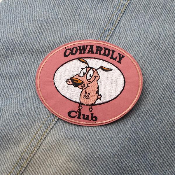 cute, couragethecowardlydog, Patchwork, Clothing