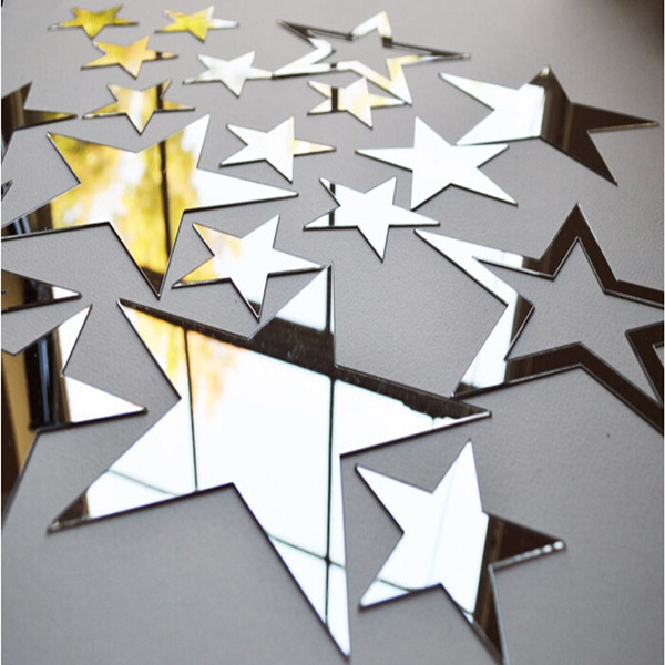 Decor, Star, Home Decor, Wall Design Stickers