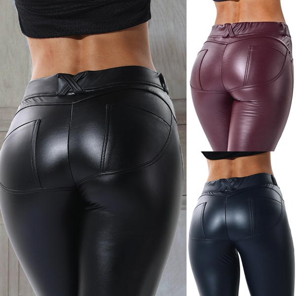 sexy leggings, Leggings, Leather pants, sexy club wear