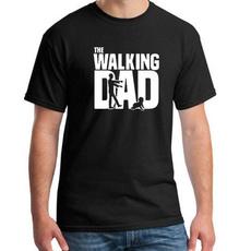 Fashion, punktshirt, tightsfitnesstshirt, walkingdead