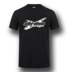 Tops & Tees, Funny T Shirt, Cotton, skidoo