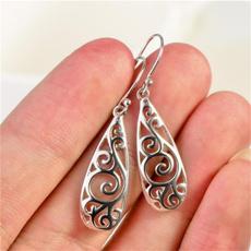 water, Silver Jewelry, Jewellery, Sterling Silver Earrings
