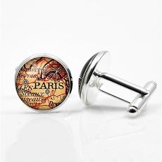 glassdome, Jewelry, personalized cufflinks, groom cufflinks