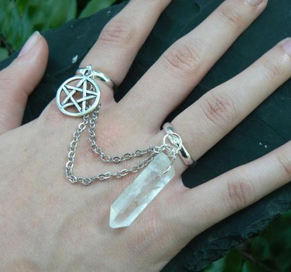 gypsyjewelry, wiccanring, wiccaslavering, Jewelry