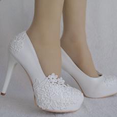 platformheel, Platform Shoes, Lace, Womens Shoes