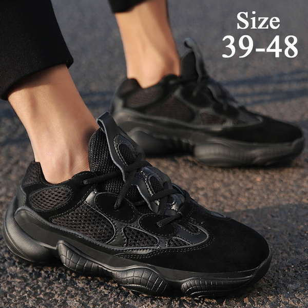 Running Shoes Mesh Sneakers Large Size