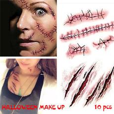 tattoossticker, Cosplay, temporarytattoosticker, halloweensticker